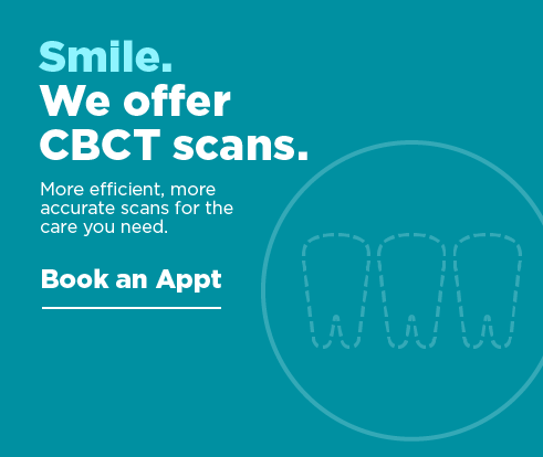 Smile. We offer CBCT Scans. Book an appointment.